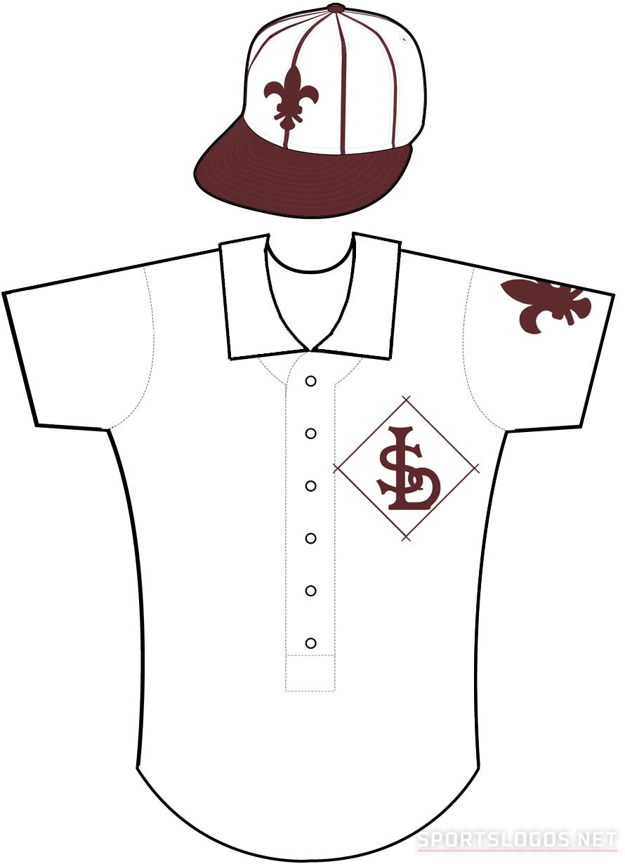 St. Louis Browns Uniform Home Uniform (1908) -  SportsLogos.Net