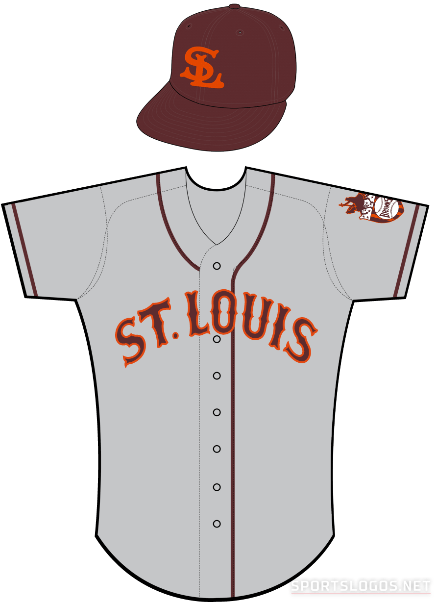 St. Louis Browns Uniform Road Uniform (1938) -  SportsLogos.Net