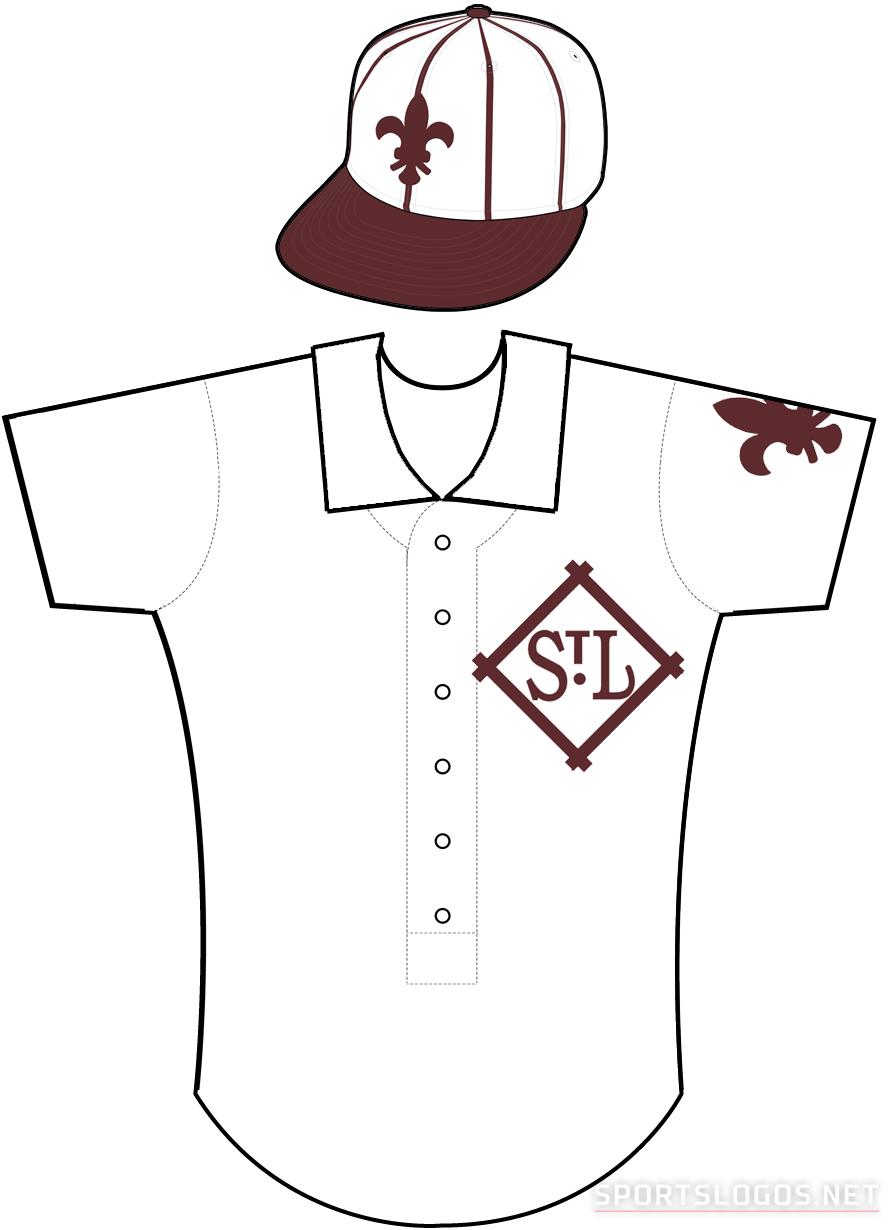 St. Louis Browns Uniform Home Uniform (1909-1910) -  SportsLogos.Net