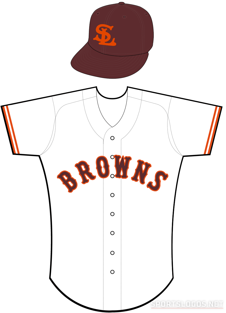 St. Louis Browns Uniform Home Uniform (1935-1936) -  SportsLogos.Net