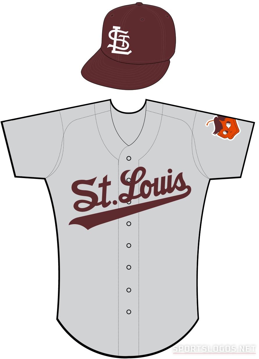 St. Louis Browns Uniform Road Uniform (1952-1953) -  SportsLogos.Net