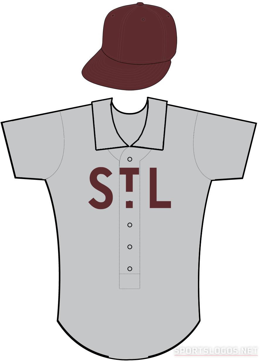 St. Louis Browns Uniform Alternate Uniform (1904) -  SportsLogos.Net