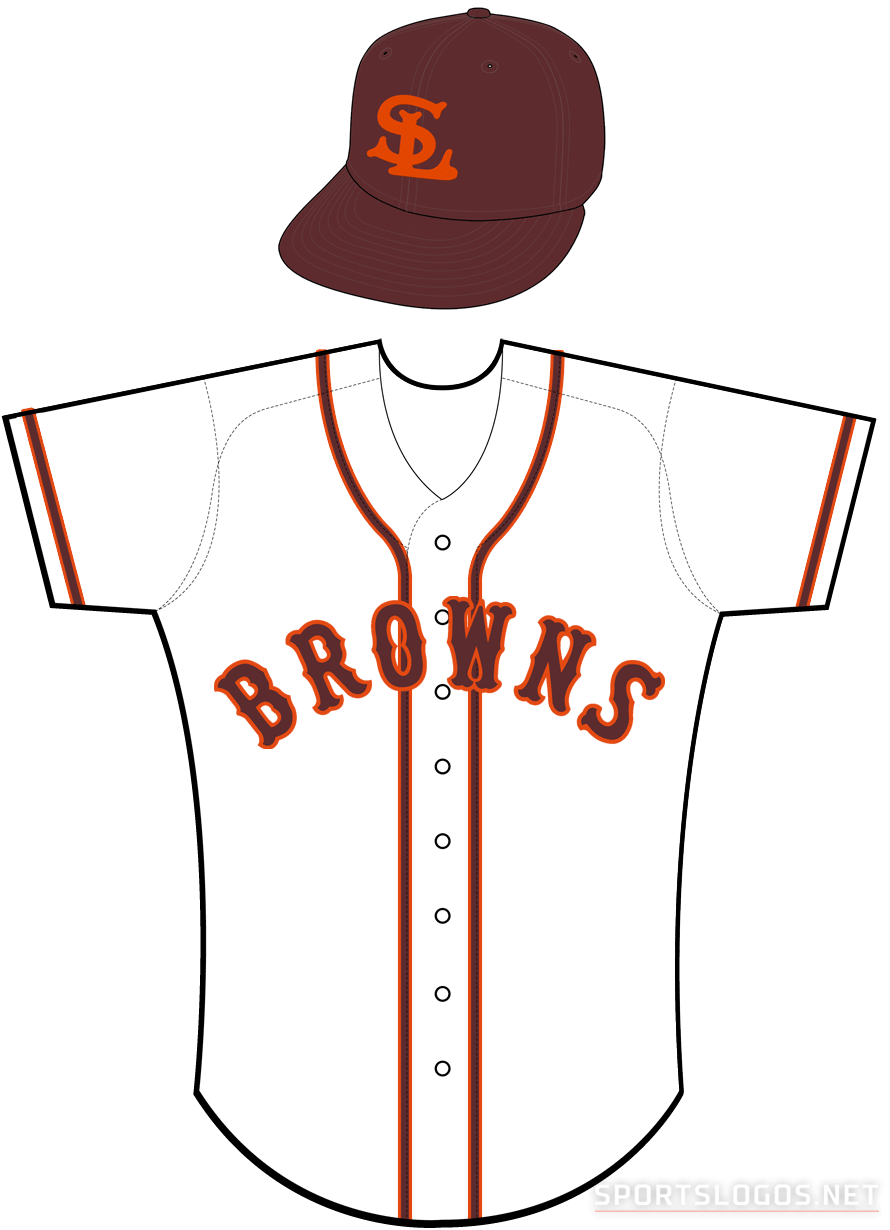 St. Louis Browns Uniform Home Uniform (1934) -  SportsLogos.Net