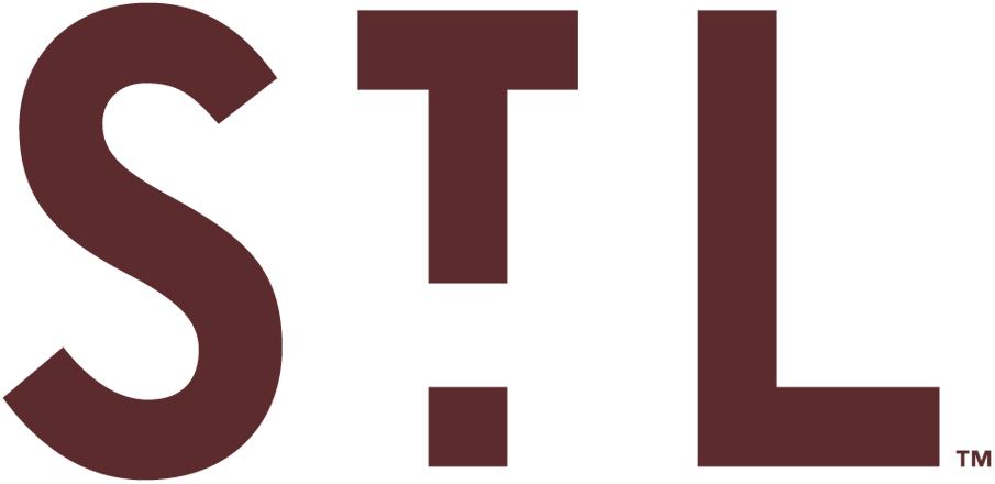 St. Louis Browns Logo Primary Logo (1905) - An 'STL' in brown SportsLogos.Net
