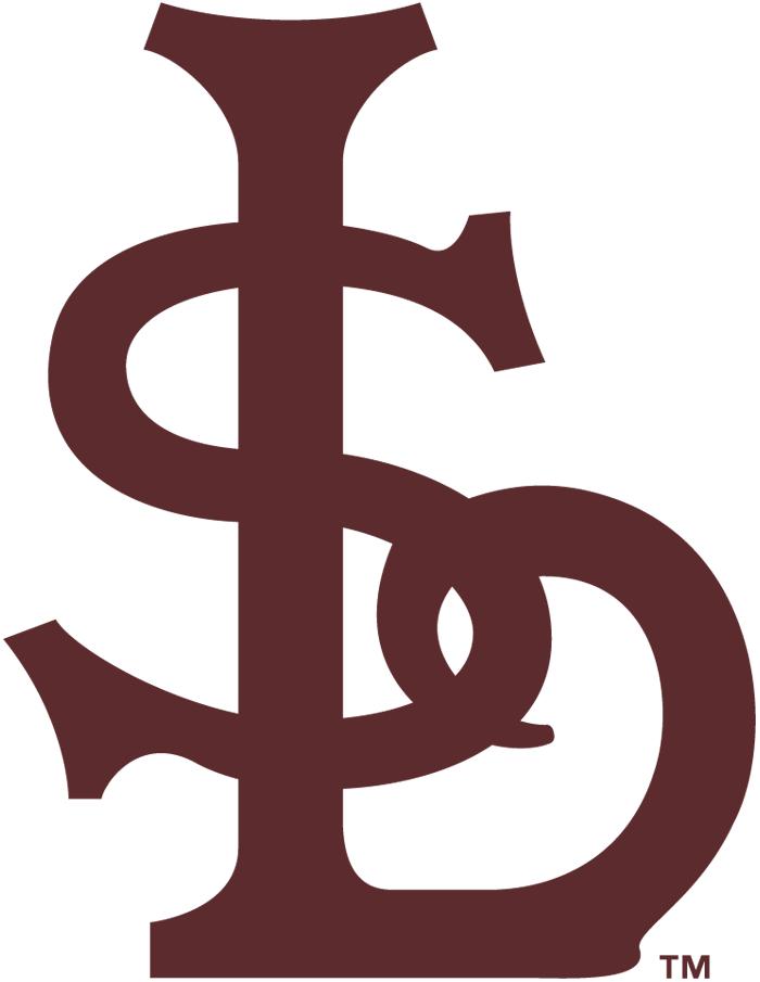 St. Louis Browns Logo Primary Logo (1911-1914) - An interlocked 'STL' in brown SportsLogos.Net