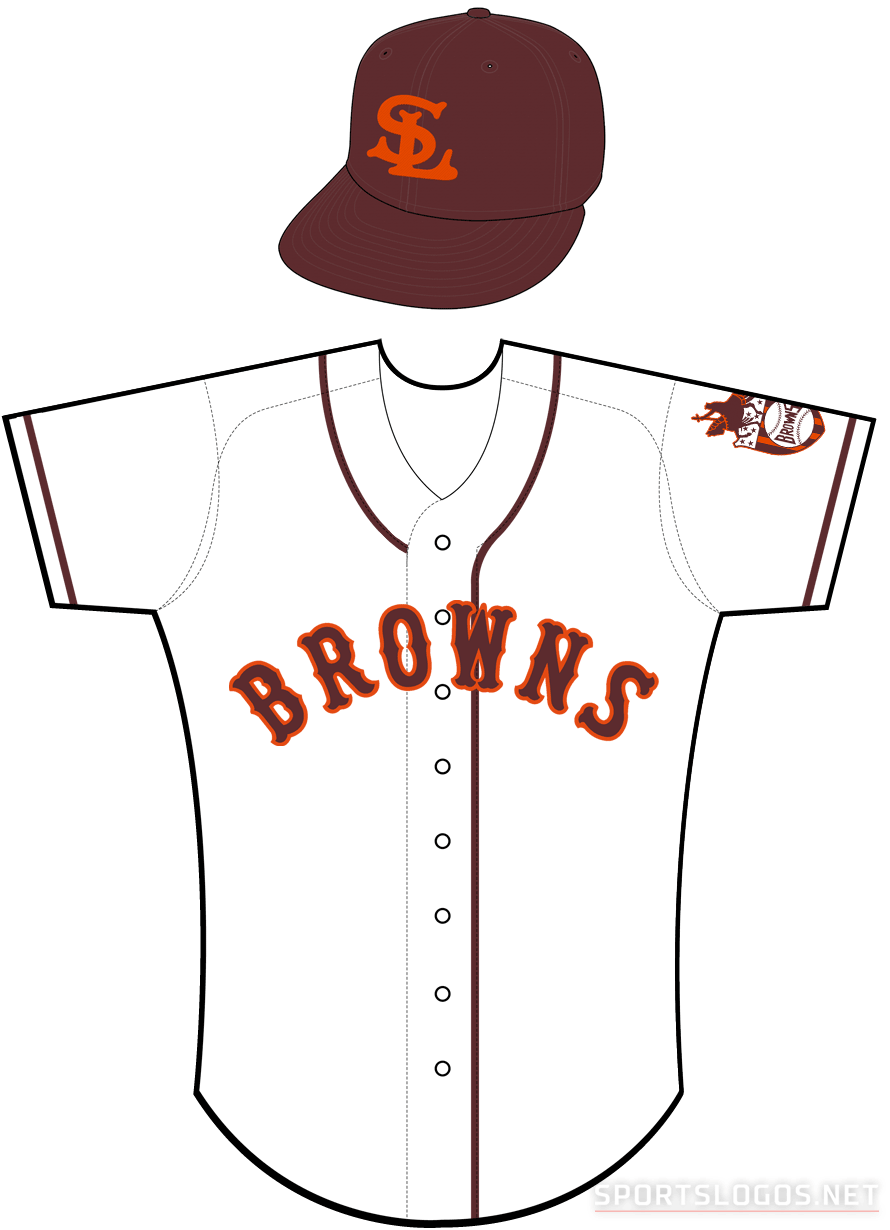 St. Louis Browns Uniform Home Uniform (1938) -  SportsLogos.Net