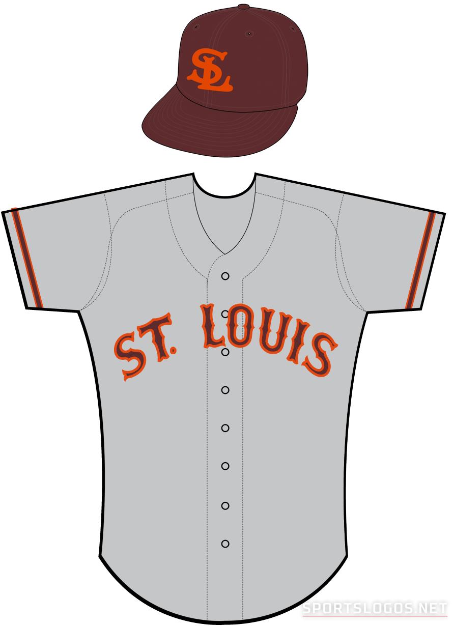 St. Louis Browns Uniform Road Uniform (1935-1936) -  SportsLogos.Net