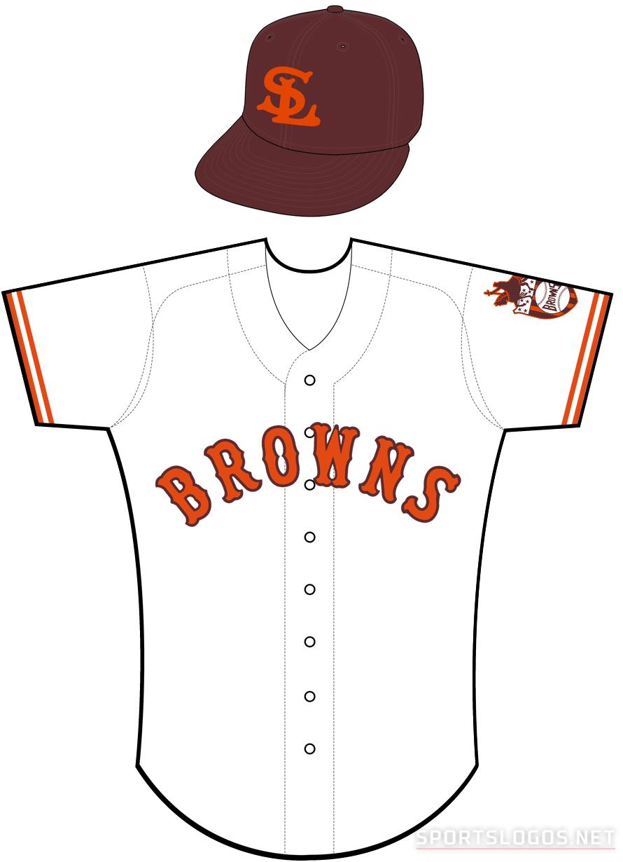 St. Louis Browns Uniform Home Uniform (1937) -  SportsLogos.Net