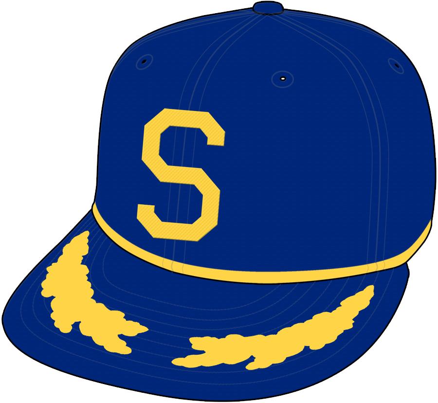 Seattle Pilots Cap Cap (1969) -  SportsLogos.Net