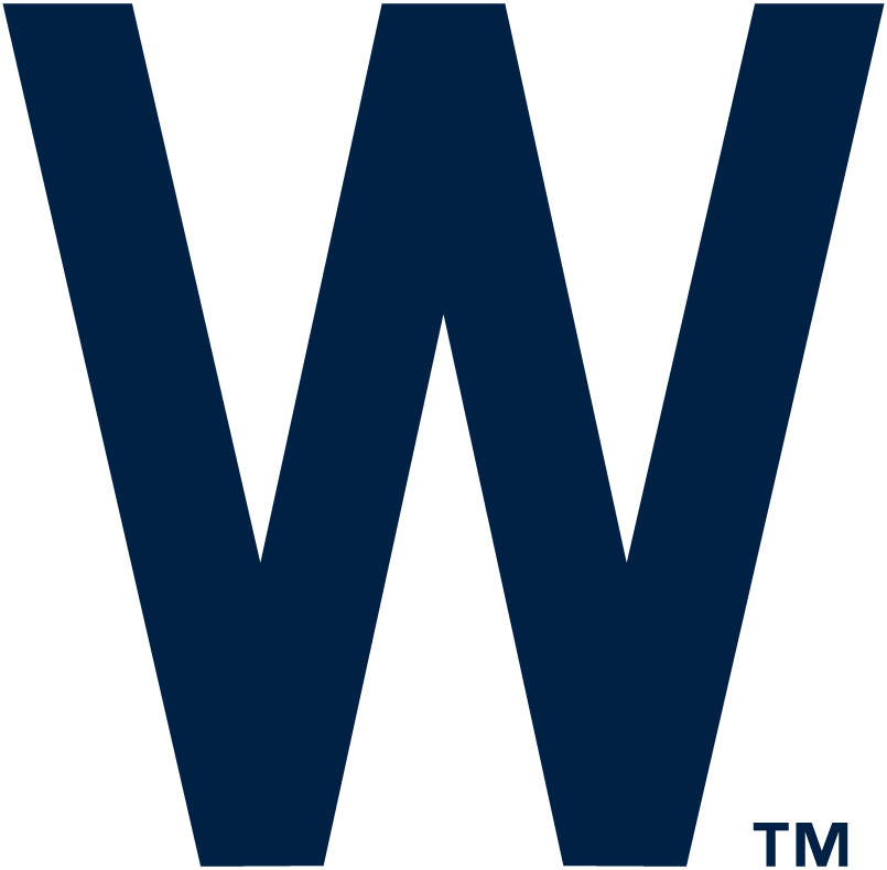 Washington Nationals Logo Primary Logo (1905-1935) - A 'W' in navy blue SportsLogos.Net