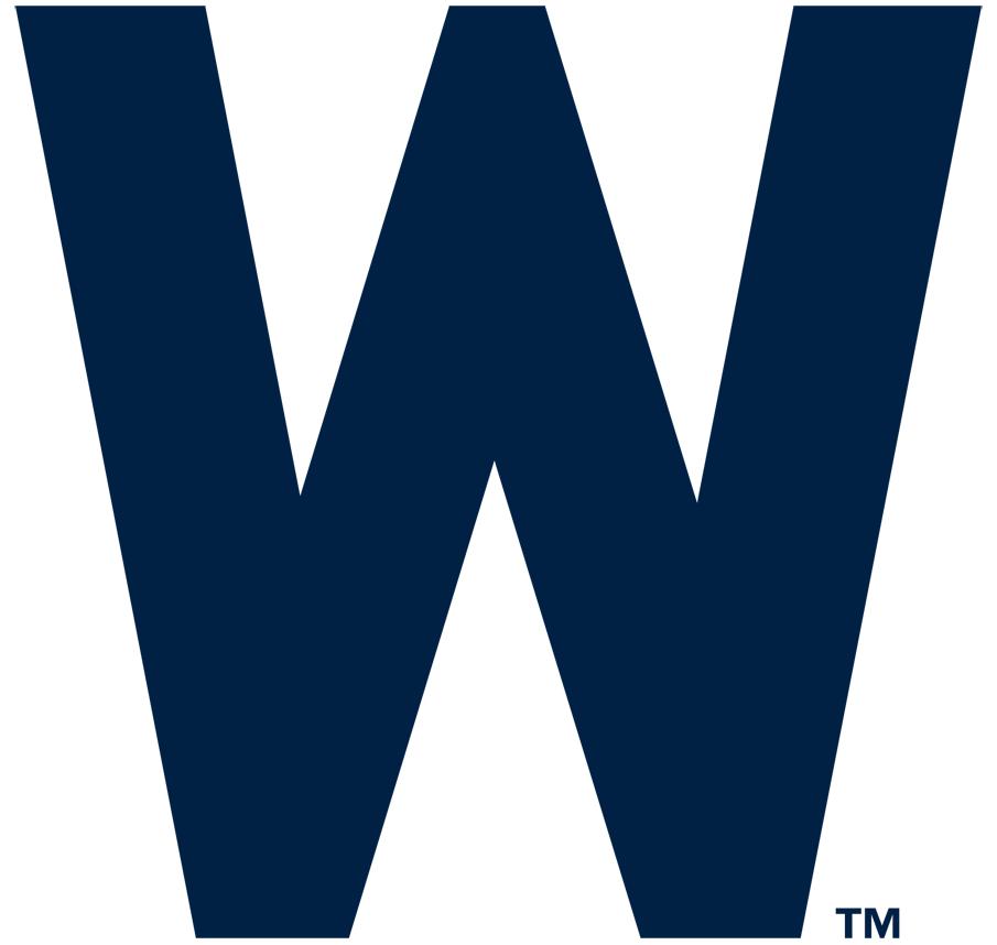 Washington Nationals Logo Primary Logo (1938-1947) - A blue 'W' SportsLogos.Net