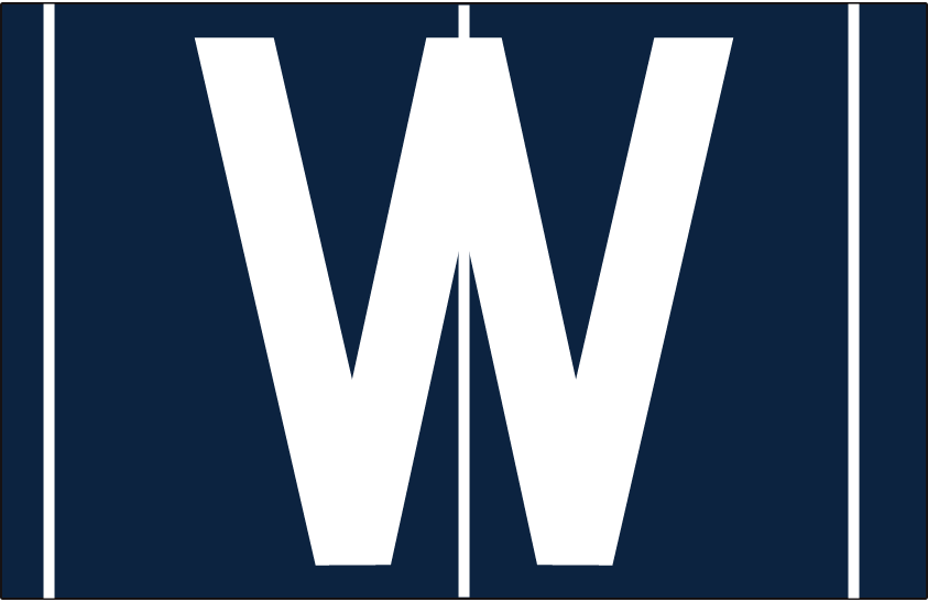 Washington Nationals Logo Cap Logo (1908) - Home cap SportsLogos.Net