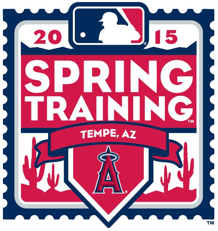 Los Angeles Angels of Anaheim Logo Event Logo (2015) - 2015 Los Angeles Angels of Anaheim Spring Training Logo SportsLogos.Net