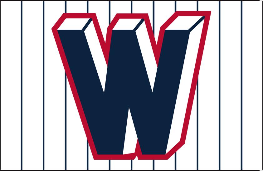 Washington Senators Logo Jersey Logo (1956-1958) - Home jersey logo SportsLogos.Net