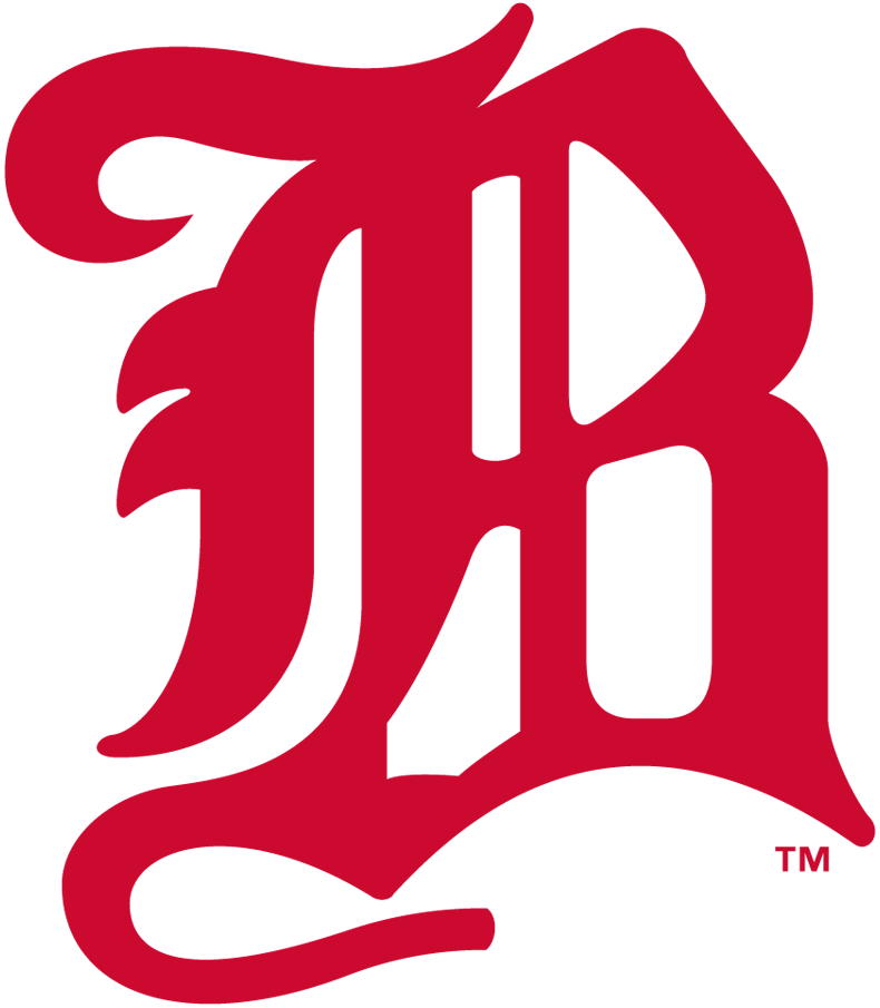 Boston Beaneaters Logo Primary Logo (1900) - A stylised 'B' in red SportsLogos.Net