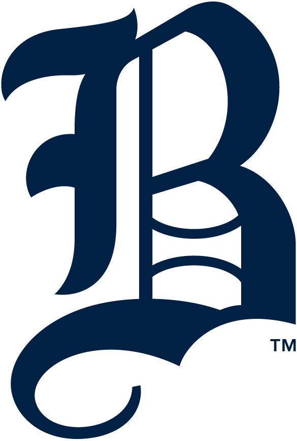 Boston Bees Logo Primary Logo (1940) - An 'olde-English' style 'B' in blue SportsLogos.Net