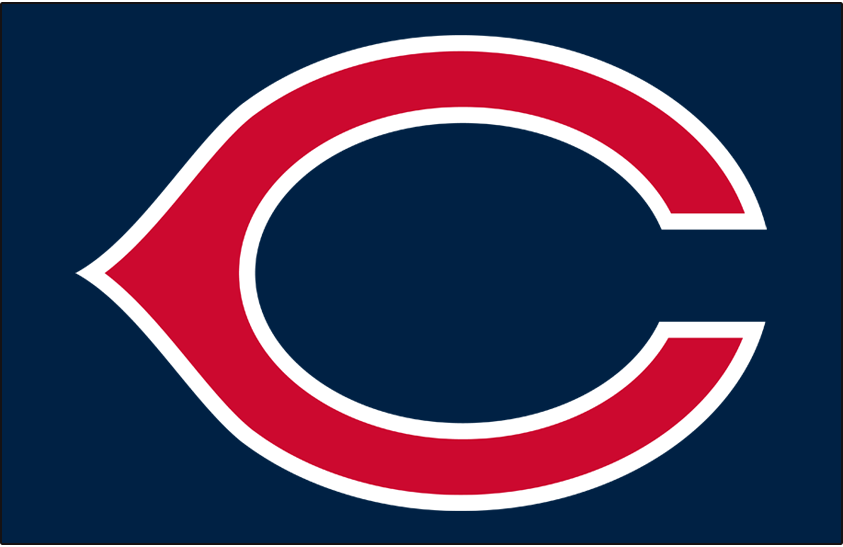 Cincinnati Redlegs Logo Cap Logo (1955) - Cincinnati Redlegs cap logo worn both at home and on the road during the 1955 season SportsLogos.Net