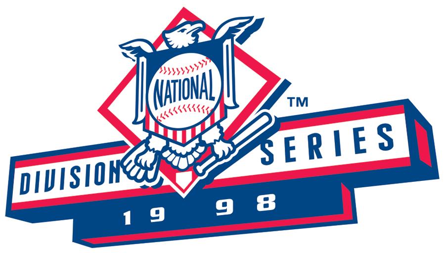 NLDS Logo Primary Logo (1998) - 1998 NLDS Logo SportsLogos.Net
