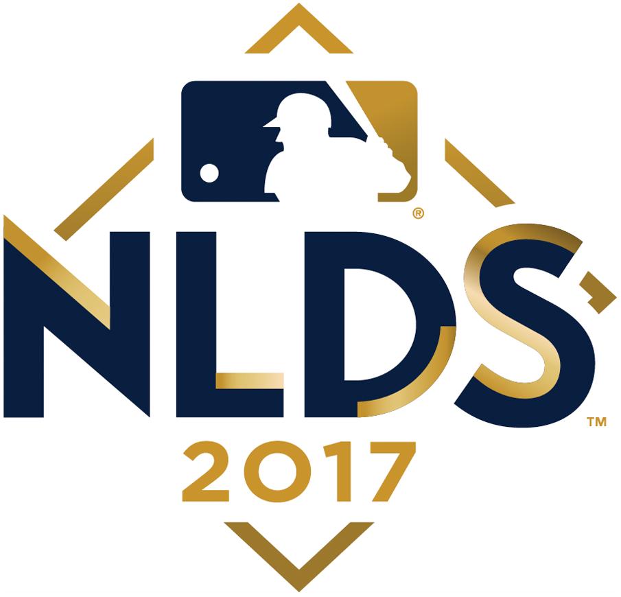 NLDS Logo Primary Logo (2017) - 2017 National League Division Series Logo SportsLogos.Net