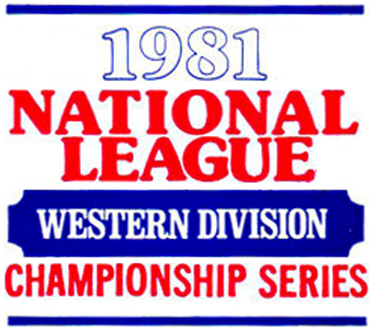 NLDS Logo Primary Logo (1981) - 1981 National League Western Division Series logo - Dodgers vs Astros SportsLogos.Net