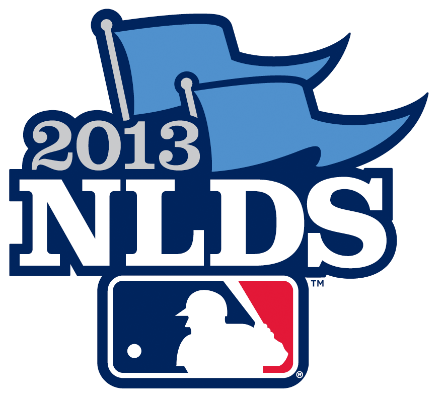 NLDS Logo Primary Logo (2013) - 2013 National League Division Series - 2013 NLDS Primary Logo SportsLogos.Net