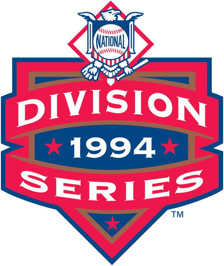 NLDS Logo Primary Logo (1994) - 1994 NLDS Logo SportsLogos.Net