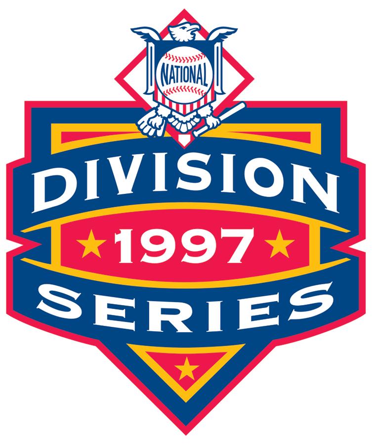 NLDS Logo Primary Logo (1997) - 1997 NLDS Logo SportsLogos.Net