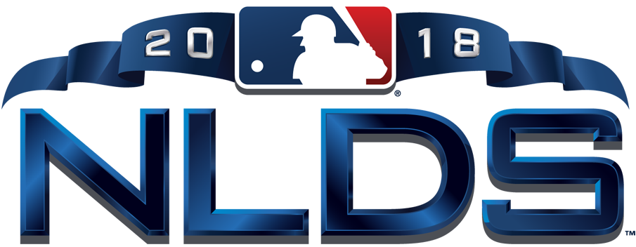 NLDS Logo Primary Logo (2018) - 2018 National League Division Series Logo NLDS SportsLogos.Net