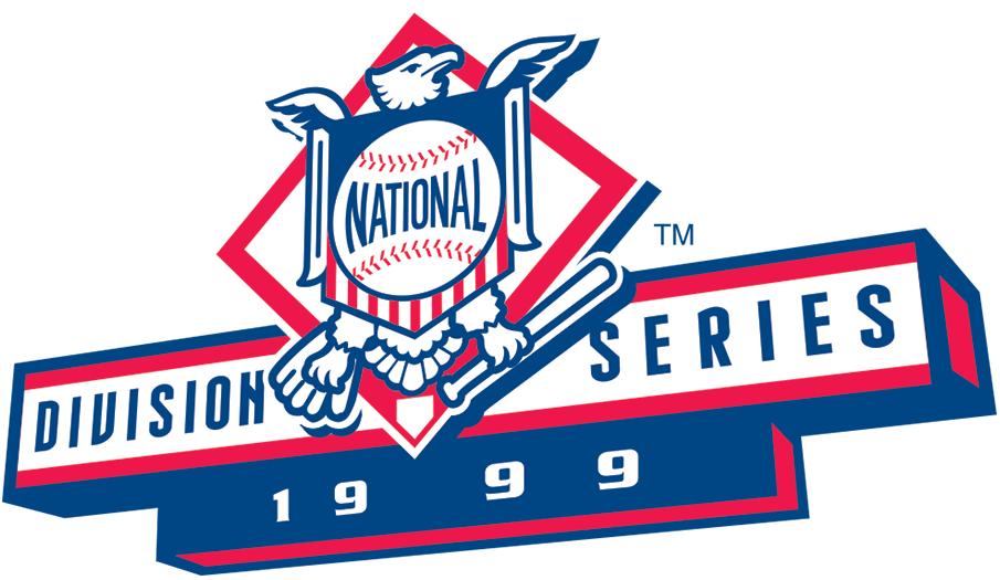 NLDS Logo Primary Logo (1999) - Atlanta 3, Houston 1 / New York Mets 3, Arizona 1 SportsLogos.Net