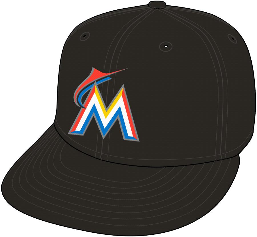 Miami Marlins Cap Cap (2012-2018) -  SportsLogos.Net