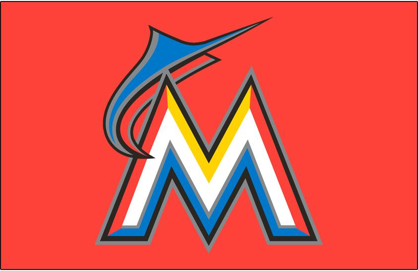 Miami Marlins Cap Logo National League Nl Chris Creamers