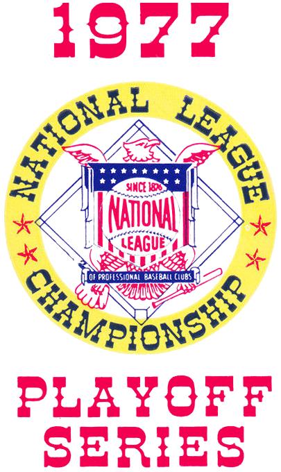 NLCS Logo Primary Logo (1977) - 1977 National League Championship Series Logo SportsLogos.Net