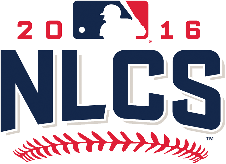 NLCS Logo Primary Logo (2016) - 2016 National League Championship Series logo - Chicago Cubs defeat Los Angeles Dodgers SportsLogos.Net
