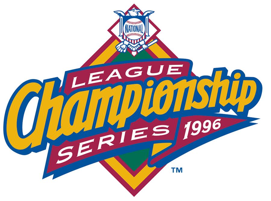 NLCS Logo Primary Logo (1996) - Championship Series - Atlanta 4, St. Louis 3 SportsLogos.Net