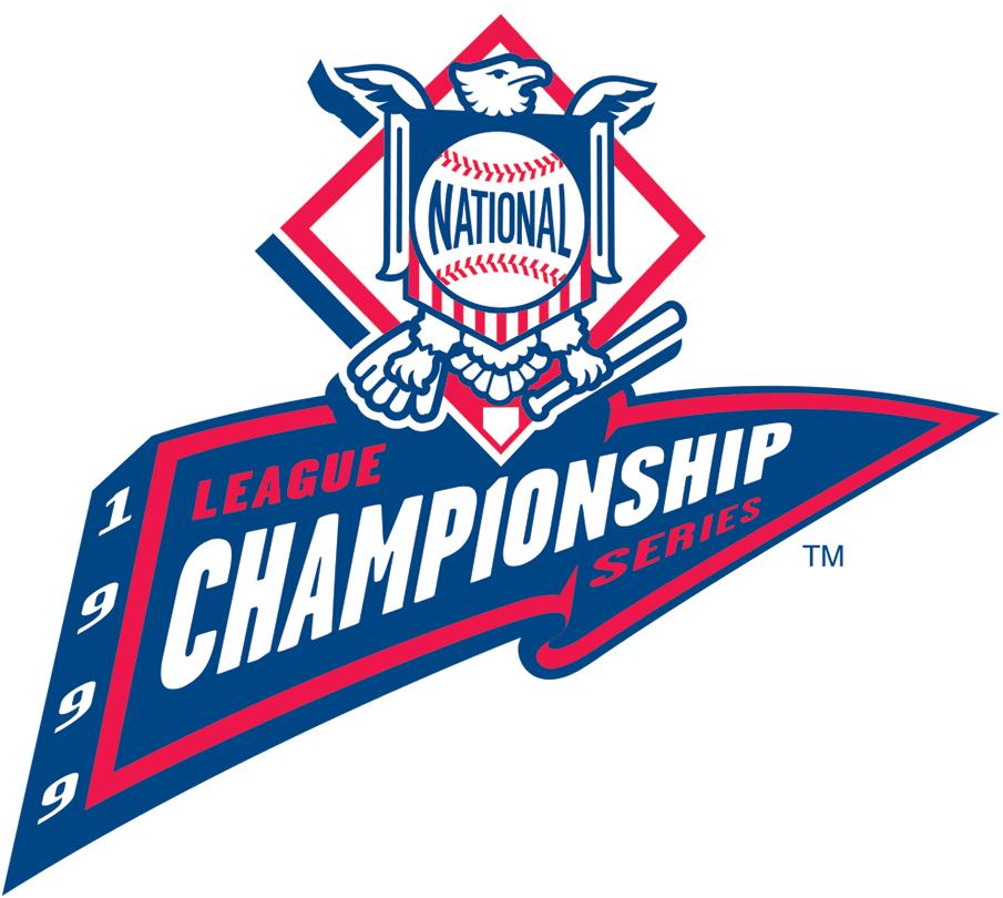 NLCS Logo Primary Logo (1999) - Championship Series - Atlanta 4, New York Mets 3 SportsLogos.Net
