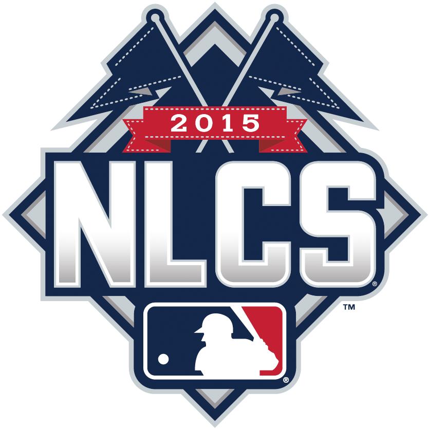 NLCS Logo Primary Logo (2015) - 2015 National League Championship Series Logo - 2015 NLCS Logo SportsLogos.Net