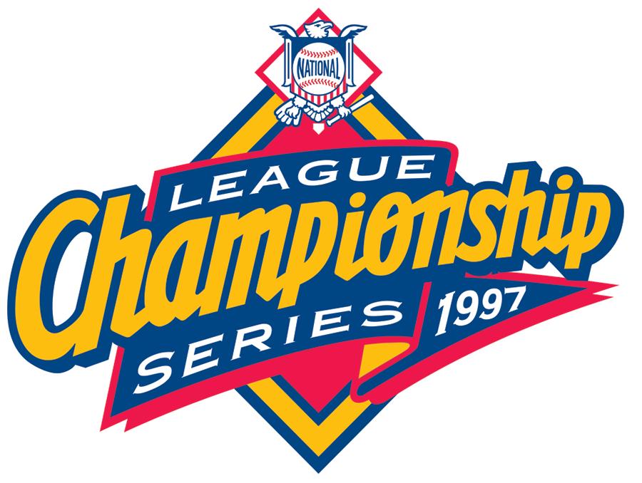 NLCS Logo Primary Logo (1997) - 1997 NLCS Logo SportsLogos.Net
