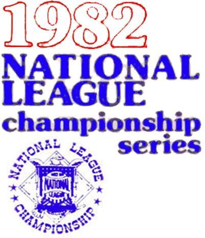 NLCS Logo Primary Logo (1982) - 1982 National League Championship Series Logo SportsLogos.Net