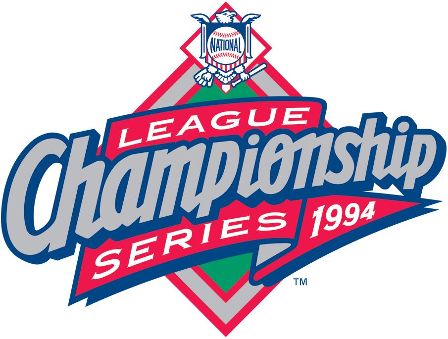 NLCS Logo Primary Logo (1994) - 1994 NLCS Logo SportsLogos.Net