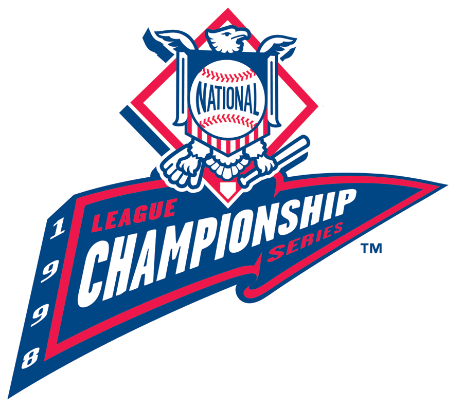 NLCS Logo Primary Logo (1998) -  SportsLogos.Net
