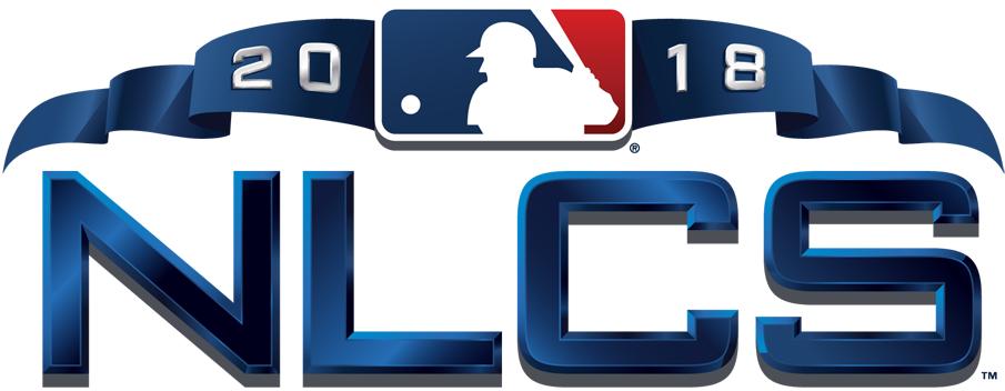 NLCS Logo Primary Logo (2018) - 2018 National League Championship Series Logo NLCS SportsLogos.Net