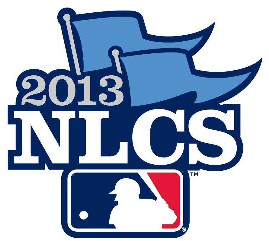 NLCS Logo Primary Logo (2013) - 2013 National League Championship Series - 2013 NLCS Primary Logo SportsLogos.Net