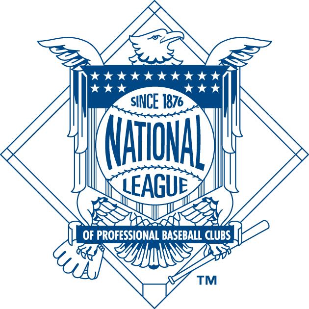 National League Logo Secondary Logo (1998-2012) -  SportsLogos.Net