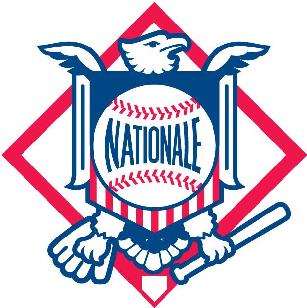 National League Logo Alt. Language Logo (1998-2004) -  SportsLogos.Net