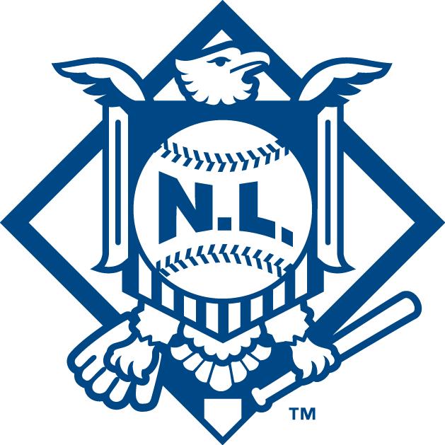 National League Logo Alternate Logo (1998-2018) -  SportsLogos.Net