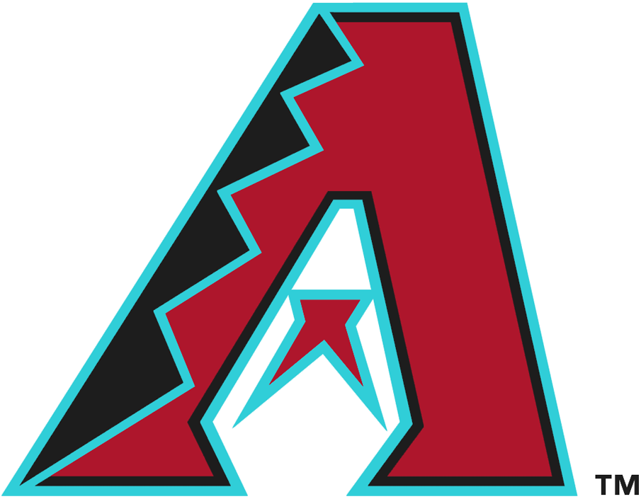 Arizona Diamondbacks Logo Alternate Logo (2016-Pres) - Primary A logo with teal trim in place of sand SportsLogos.Net