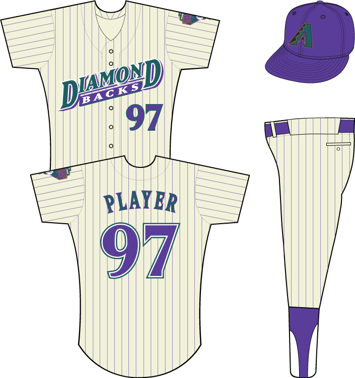 """D-Backs Wearing Purple and Teal in 2015 for """"Throwback Thursdays"""""""