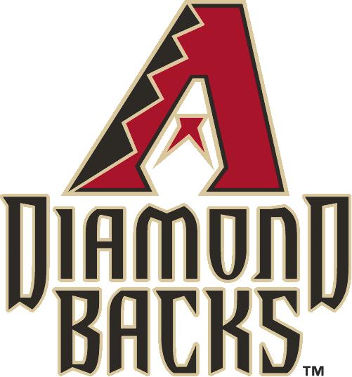 Arizona Diamondbacks Logo Unused Logo (2007) - Red, black and sand A above Diamond Backs in black with a sand outline SportsLogos.Net