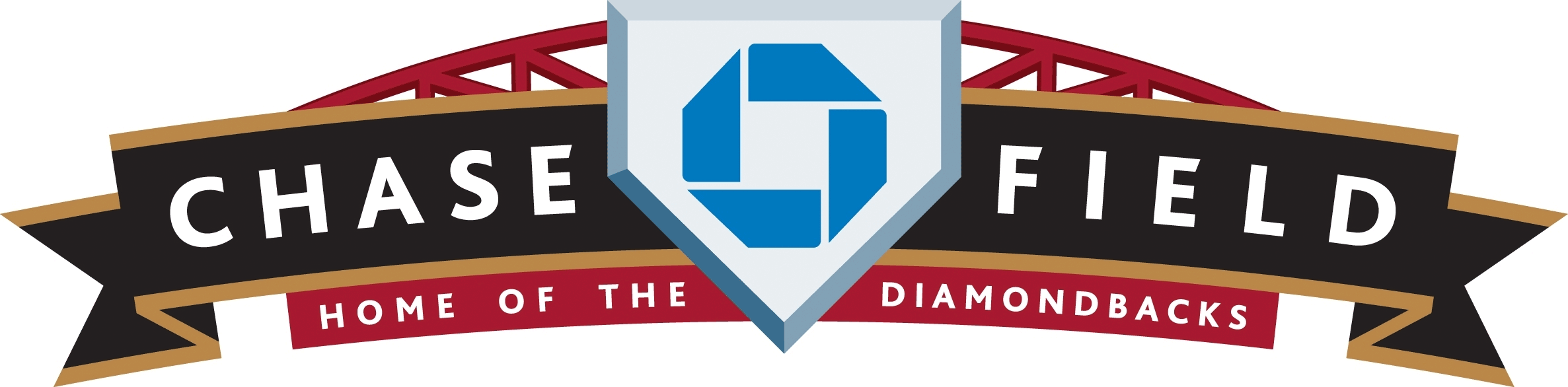 Arizona Diamondbacks Logo Stadium Logo (2007-Pres) - Chase Field logo - home stadium of the Arizona Diamondbacks SportsLogos.Net
