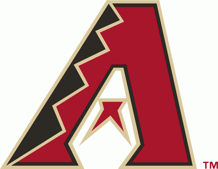 Arizona Diamondbacks Logo Primary Logo (2012-Pres) - Red, black and sand A SportsLogos.Net